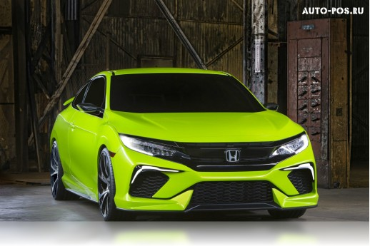 Презентация Honda Civic Concept 2016