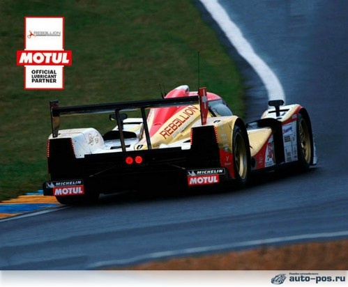 Болид LMP2 ORECA 07 команды Rebellion Racing недавно присоединившейся к партнерам Motul